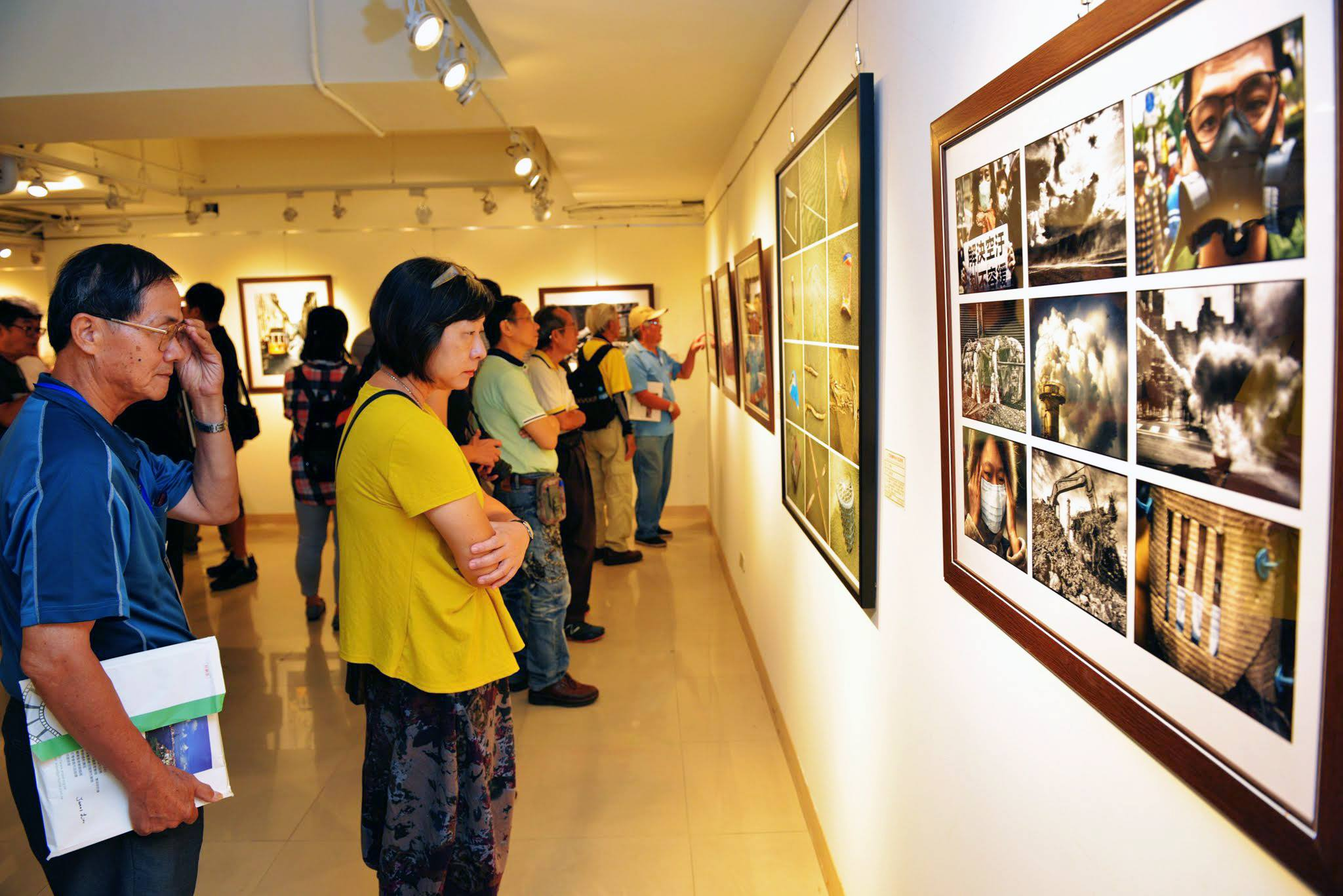 Internationalen Fotoausstellung in der Millionenstadt Kaohsiung im Süden der Republik China (Taiwan)